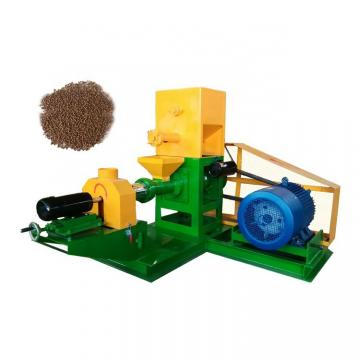 Automatic High Quality Dry Type Floating Fish Feed Extruder Machine From China