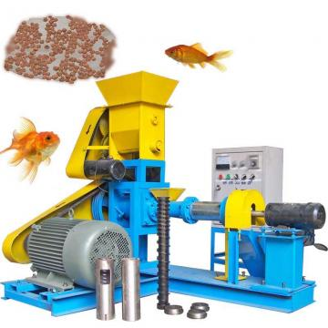 Complete Aquatic Pet Livestock Sinking Floating Fish Feed Extruder Extrusion Pelletizer Production Plant Processing Equipment