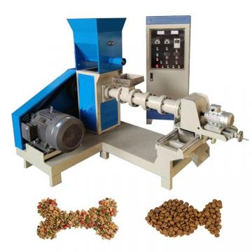 Manufacturer Floating Fish Food Process Mill Making Machine/Small Animal Poultry Feed Pellet Extruder